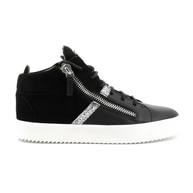 giuseppe zanotti promotions sneakers Sneakers KrissGZ F KRISS (2) - CUIR ET NUBUCK