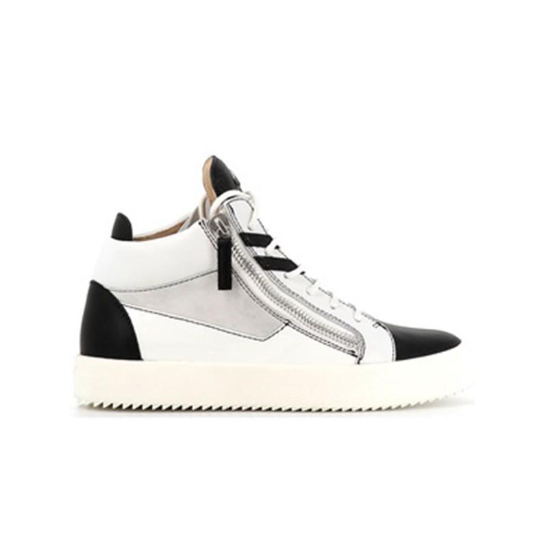 giuseppe zanotti promotions sneakers Sneakers KrissGZ H KRISS (2) - CUIR, NUBUCK ET