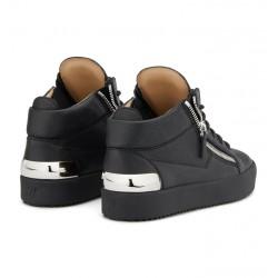 giuseppe zanotti promotions sneakers Sneakers KrissGZ H KRISS (2) - CUIR GRAINÉ - N