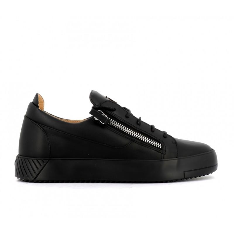 giuseppe zanotti nouveautés sneakers Sneakers FrankieGZ H FRANKIE 2 - CUIR - NOIR