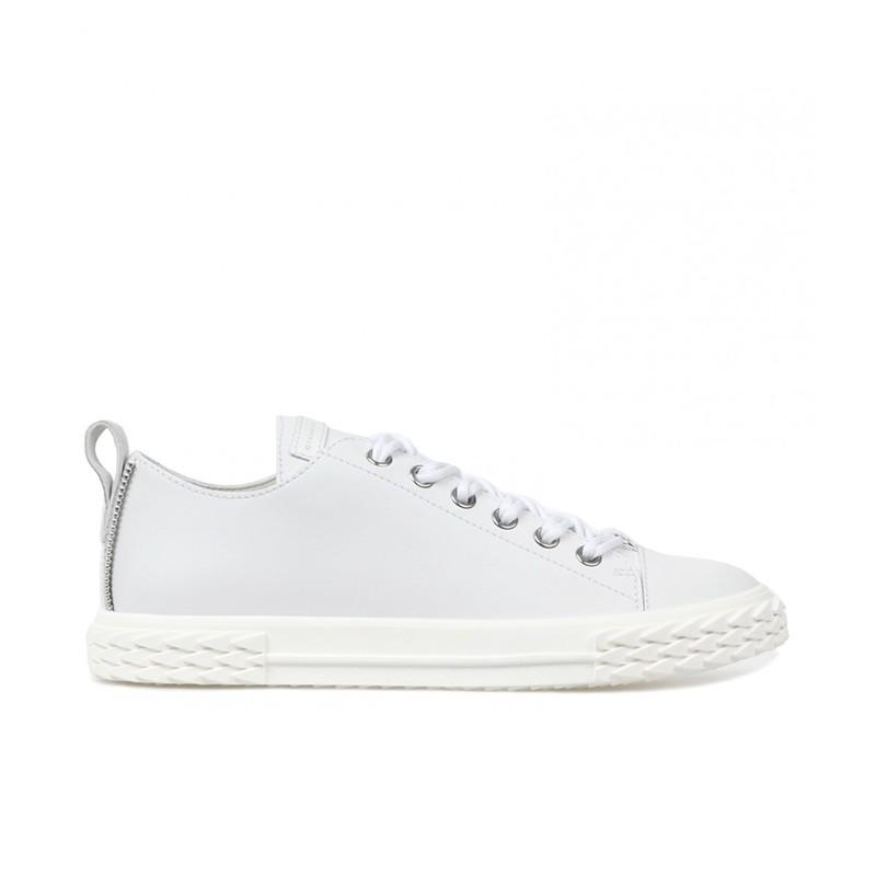 giuseppe zanotti sneakers Sneakers BlabberGZ H BLABBER - CUIR - BLANC ET D