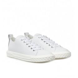 giuseppe zanotti nouveautés sneakers Sneakers BlabberGZ H BLABBER - CUIR - BLANC ET D