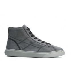 hogan promotions sneakers SneakersHOGLORIO 2 - NUBUCK DELAVÉ - GRI