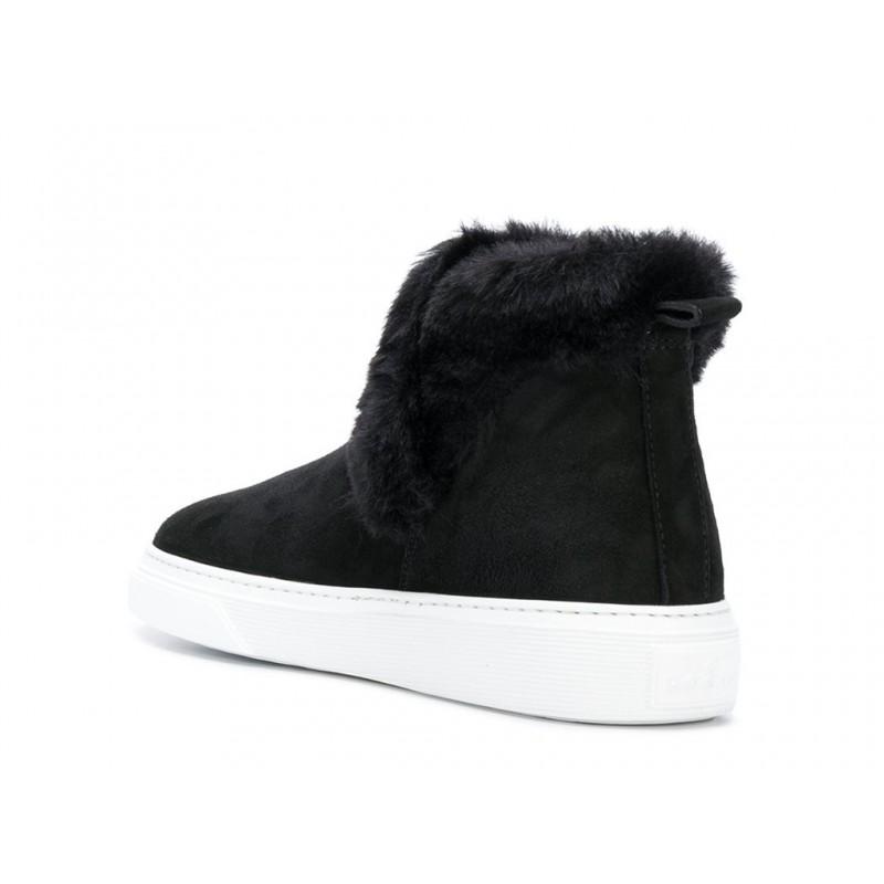 hogan sneakers SneakersHOFOU - NUBUCK FOURRÉ - NOIR