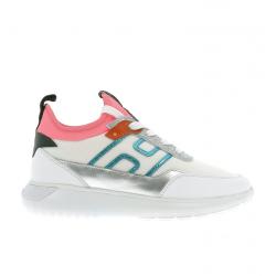 hogan nouveautés sneakers Sneakers Interactive 3HOCUBE CHAUSS F - CUIR, TOILE ET