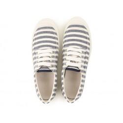hogan sneakers SneakersHOGAN F - TOILE RAYÉE - BLEUE ET