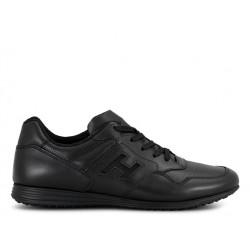 hogan promotions sneakers Sneakers OlympiaOLYMPIA X HIV - CUIR - NOIR (2)