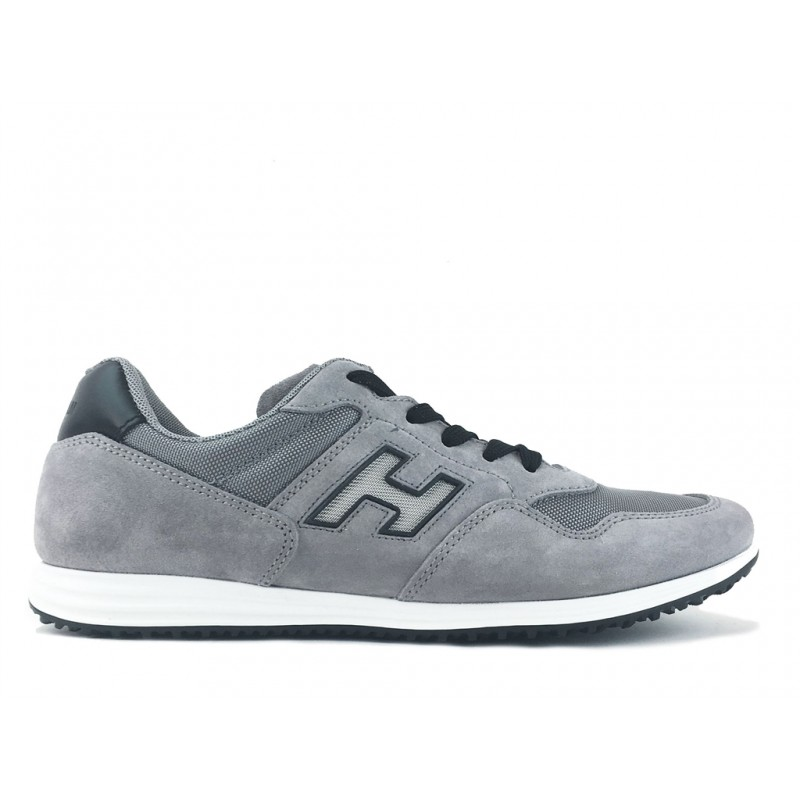 hogan promotions sneakers Sneakers OlympiaOLYMPIA X - NUBUCK ET TOILE - GR