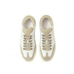 hogan promotions sneakers SneakersHOMONT - CUIR ET NUBUCK - BEIGE