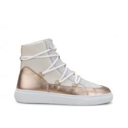 hogan promotions sneakers SneakersHOSNOW - CUIR ET NUBUCK FOURRÉ -