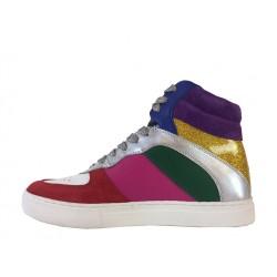 marc jacobs promotions sneakers SneakersJAC JORDAN MULTI - CUIR ET PAILL