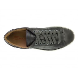 santoni sneakers SneakersNEW GLORIA 4 - CUIR PATINÉ - GRI