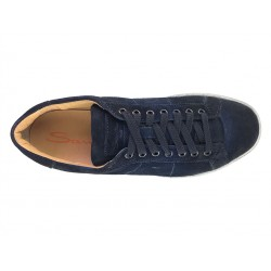 santoni promotions sneakers SneakersNEW GLORIA 4 - NUBUCK DÉLAVÉ - M