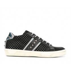 leather crown sneakers SneakersLC SNEAK CLOU - CUIR, NUBUCK ET