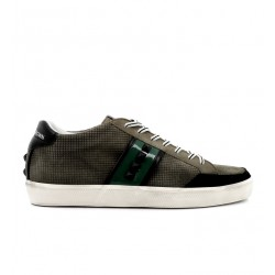 Leather Crown promotions sneakers SneakersLCM SNEAK BAS - NUBUCK ET VERNIS