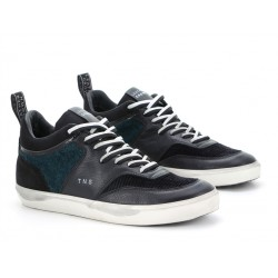 leather crown promotions sneakers SneakersLCM SNEAKER BAS - CUIR ET VELOUR