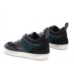 leather crown promotions sneakers SneakersLCM SNEAKER BAS - CUIR ET VELOUR