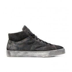santoni nouveautés sneakers Sneakers GloriaNEW GLORIO 5 - NUBUCK VINTAGE -