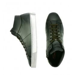 santoni nouveautés sneakers Sneakers GloriaNEW GLORIO 5 - CUIR SOUPLE ET PA
