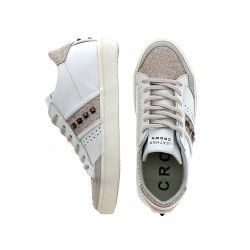 leather crown promotions sneakers SneakersLCF SNEAKER BAS - CUIR ET PAILLE