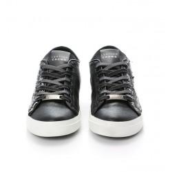 leather crown promotions sneakers SneakersLCF SNEAKER BAS - CUIR ET PAILLE