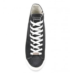 leather crown promotions sneakers SneakersLCF SNEAKER HAUT - GLITTERS - NO