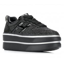 hogan promotions sneakers SneakersMAXI CASSETTA - GLITTER - ARGENT