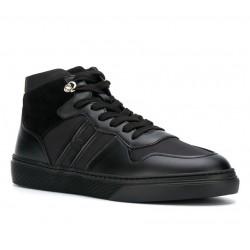 hogan promotions sneakers SneakersHOGLORIO 3 - CUIR ET TOILE - NOI