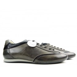 hogan promotions sneakers Sneakers OlympiaOLYMPIA ETE H - CUIR PATINÉ - GR