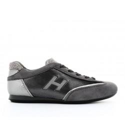 hogan sneakers Sneakers OlympiaOLYMPIA F - NUBUCK ET TOILE - AR