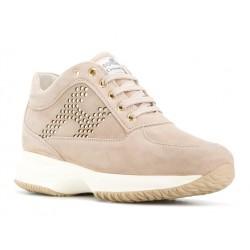 hogan nouveautés sneakers Sneakers InteractiveINTERACTIVE F - NUBUCK CLOUTÉ -