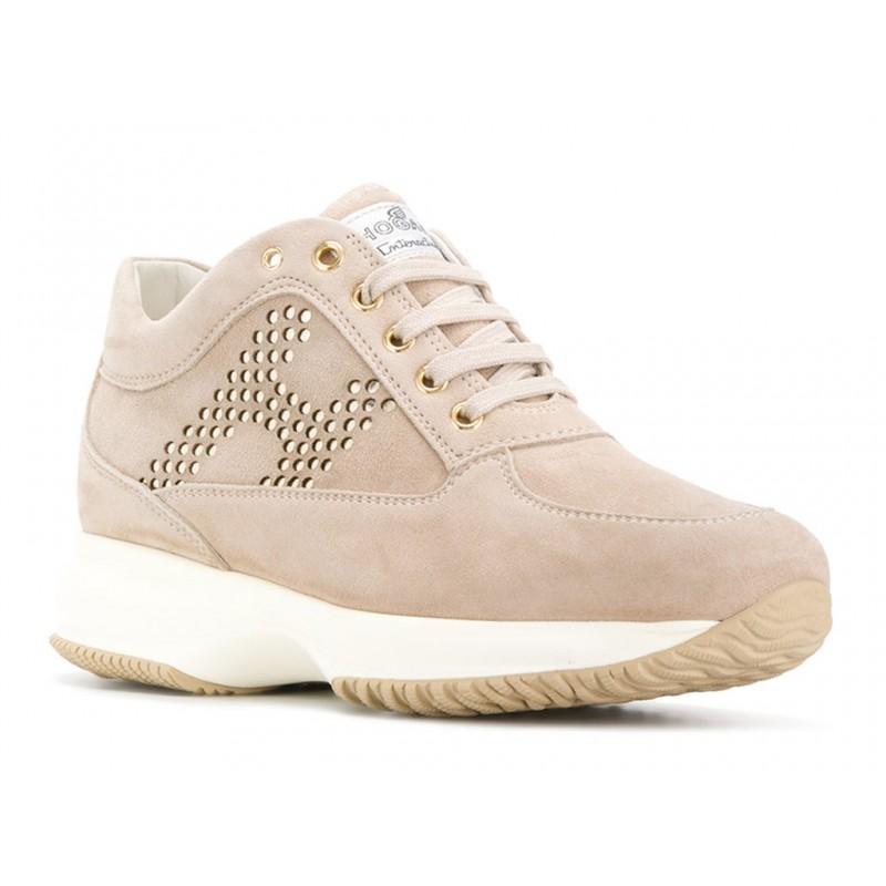 hogan sneakers Sneakers InteractiveINTERACTIVE F - NUBUCK CLOUTÉ -