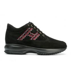 hogan sneakers Sneakers InteractiveINTERACTIVE F - NUBUCK ET PERLES