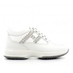 hogan nouveautés sneakers Sneakers InteractiveINTERACTIVE F - CUIR - BLANC ET