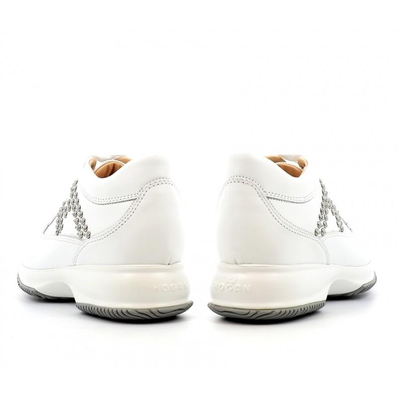 hogan sneakers Sneakers InteractiveINTERACTIVE F - CUIR - BLANC ET