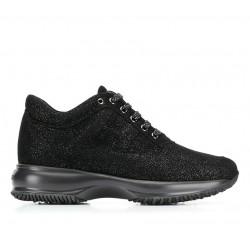hogan nouveautés sneakers Sneakers InteractiveINTERACTIVE F - NUBUCK IRISÉ - N