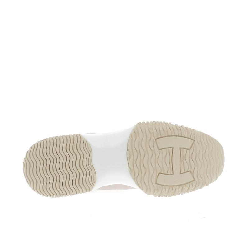 hogan nouveautés sneakers Sneakers InteractiveINTERACTIVE F - CUIR IRISÉ - CRÈ