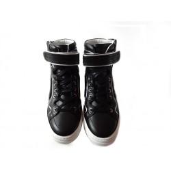 pierre hardy promotions sneakers Sneakers 112PHH 112 - CUIR - NOIR ET ARGENT