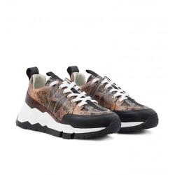 pierre hardy nouveautés sneakers Sneakers StreetlifePHF STREET LIFE F - CUIR IMPRIMÉ