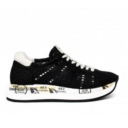 premiata nouveautés sneakers Sneakers ConnyPREMIATA F CONNY - TISSU - NOIR