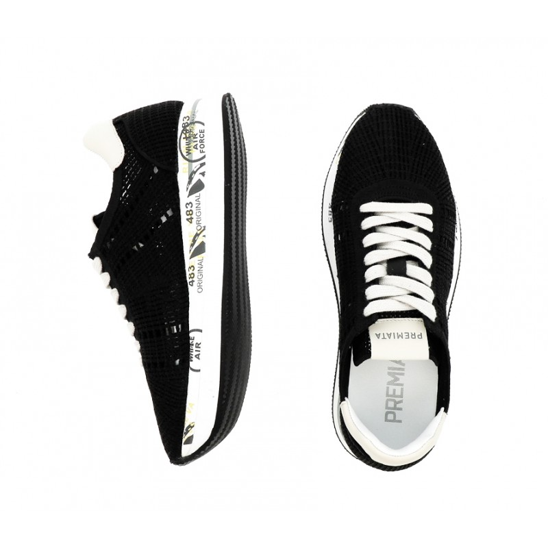 premiata sneakers Sneakers ConnyPREMIATA F CONNY - TISSU - NOIR