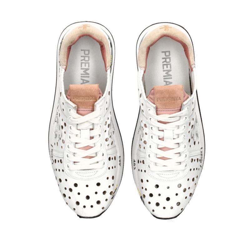 premiata sneakers Sneakers ConnyPREMIATA F CONNY - CUIR PERFORÉ