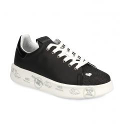 premiata nouveautés sneakers Sneakers BellePREMIATA F BELLE - CUIR ET GLITT