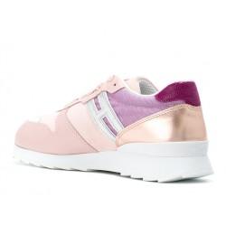 hogan promotions sneakers SneakersREBEL FLY F - CUIR, NUBUCK ET TO