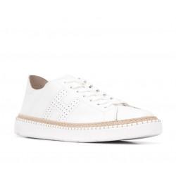 hogan promotions sneakers SneakersREBEL CORD H - CUIR PERFORÉ - BL