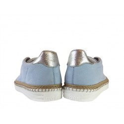 hogan promotions sneakers SneakersREBEL CORD LACET - NUBUCK - BLEU