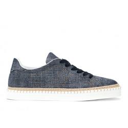 hogan sneakers SneakersREBEL CORD LACET - NUBUCK IMPRIM