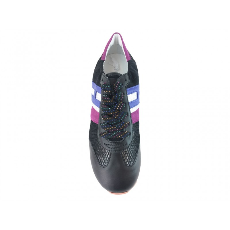 hogan sneakers SneakersREBEL FLY F RETRO - CUIR ET TOIL