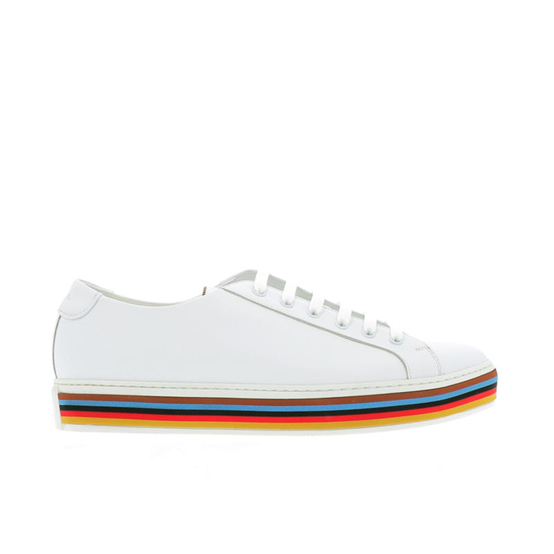 paul smith sneakers Sneakers SotoPS SNEAKER SOTTO - CUIR - BLANC