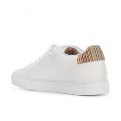 paul smith nouveautés sneakers Sneakers BassoPS SNEAKER BASSO - CUIR - BLANC